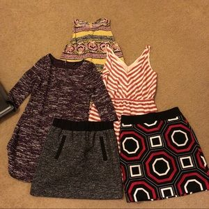 5 piece lot Ann Taylor Small Clothing Reseller box